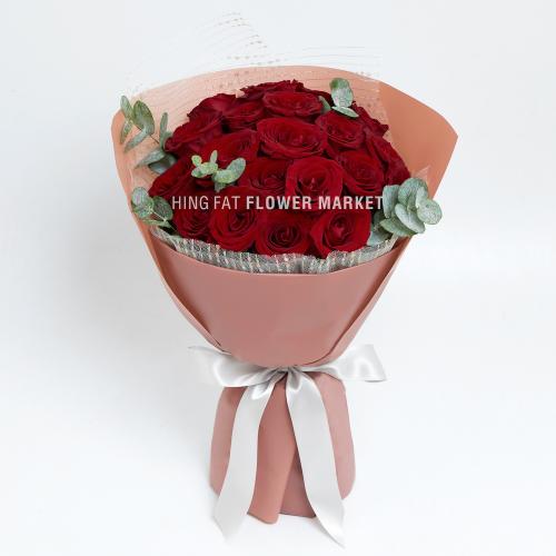 - 20枝紅玫瑰花束